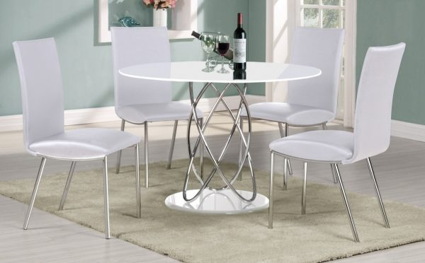 Collection Small Round White Kitchen Table And Chairskitchen Medium