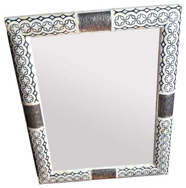 Collection Star Bone Inlay Mirror Wall Mirrors London By Rocomara Medium