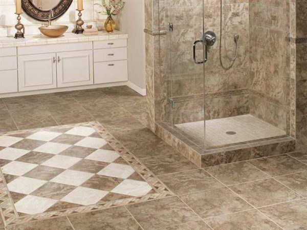 Collection The Best Tile For Shower Floor That Will Impress You With Medium