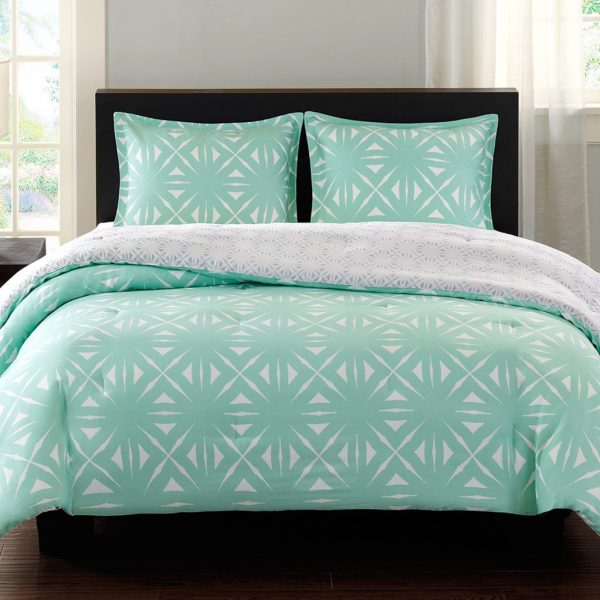 Collection Turquoise And White Bedding Set Product Selectionshomesfeed Medium