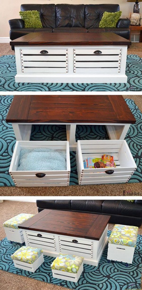 Creative 35 Diy Wood Crate Projects With Lots Of Tutorials Noted List Medium