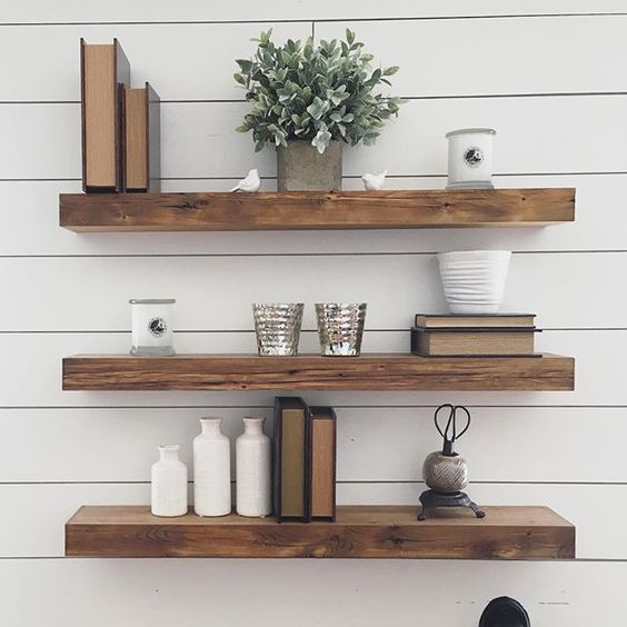 Creative 35 Floating Shelves Ideas For Different Rooms Digsdigs Medium