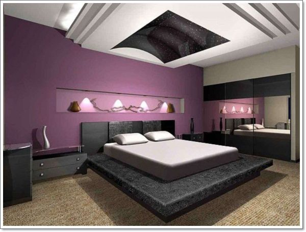 Creative 35 Inspirational Purple Bedroom Design Ideas Medium