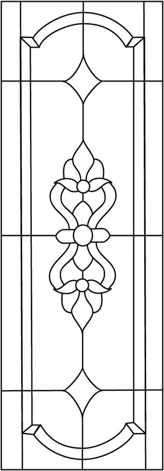 Creative 45 Simple Stained Glass Patternsguide Patterns Medium