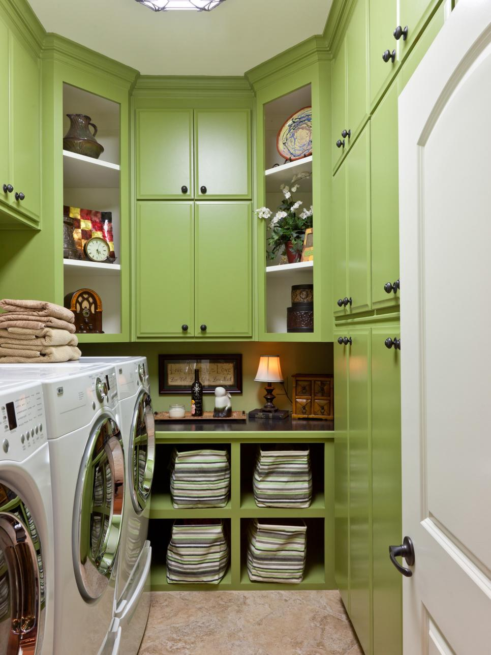 creative 8 tidy laundry rooms that make washday funhgtv