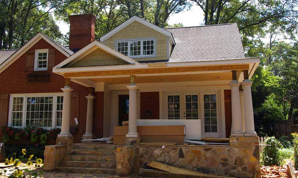 creative adding a front porch to home  bistrodre porch and