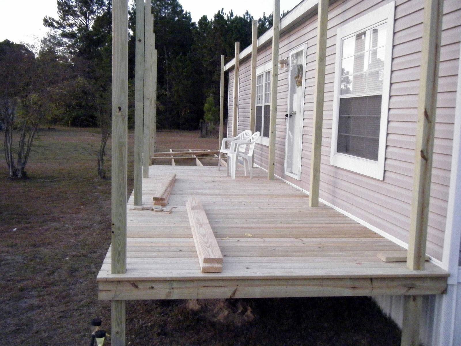 creative adding a screened porch to a mobile home