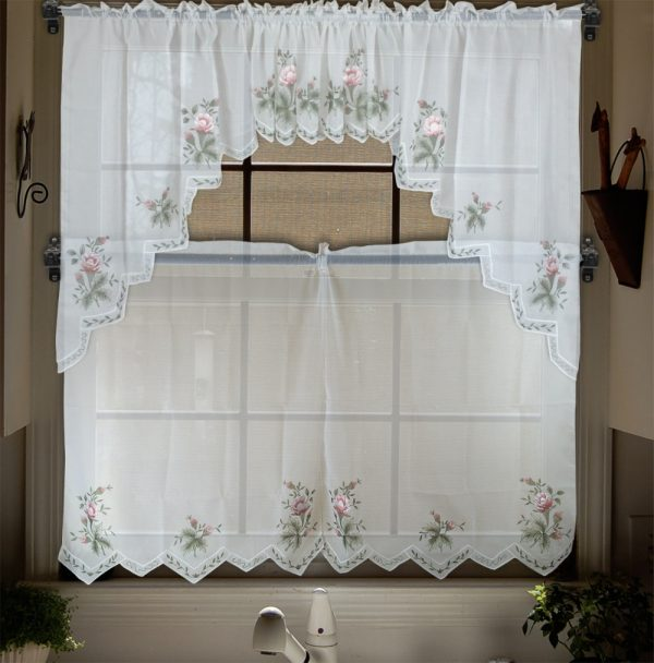 Creative Aliexpresscombuy Embroidery Valance Sheer Short Tulle Medium
