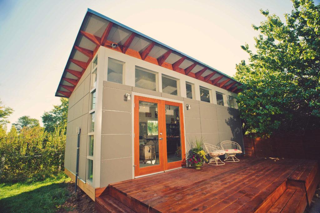 creative backyard sheds studios storage   home office sheds