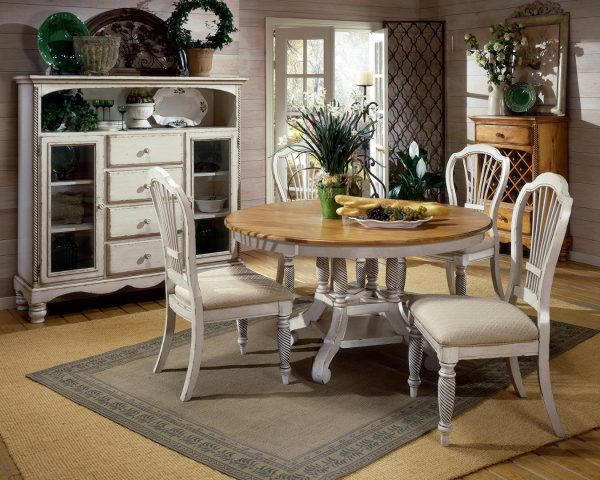 Creative Beautiful White Round Kitchen Table And Chairshomesfeed Medium