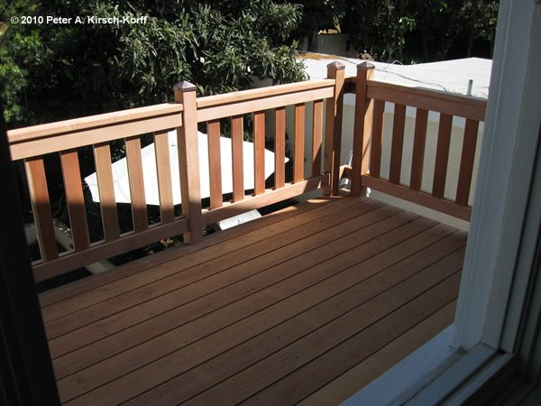 Creative Custom Deck Railing Ideas Medium