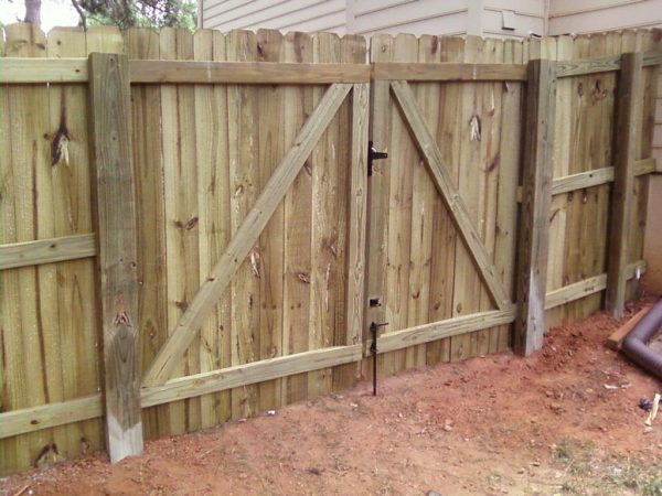 Creative Fence Gate Types Fencing Medium