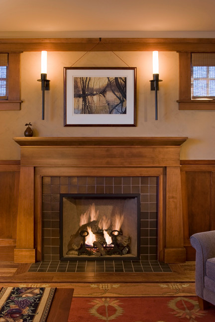Creative Fireplaces Through The Ages Arts   Craftstms Architects Medium