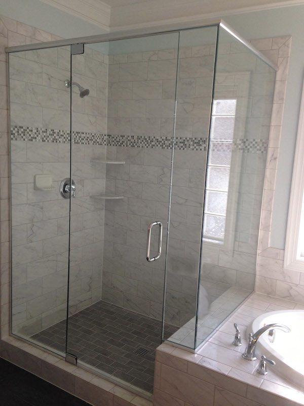 Creative Framed Vs Semiframeless Vs Frameless Shower Doors Medium
