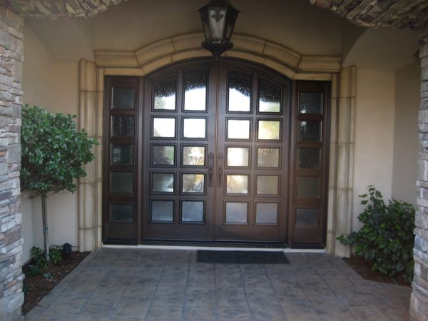 Creative Front Doors Chic Homes With Double Front Door Homes With Medium