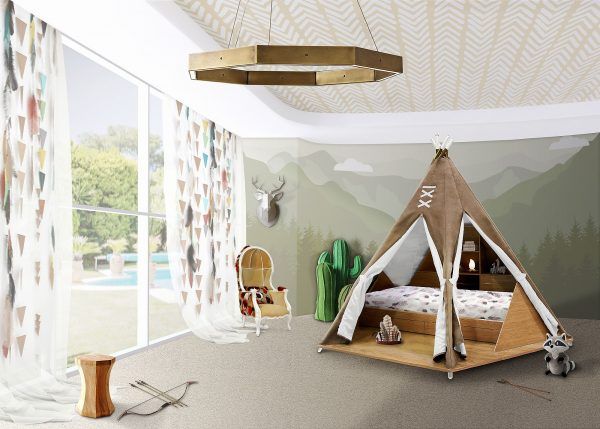 Creative Fun Design 10 Fabulous Teepees For That Playful Kids Room Medium