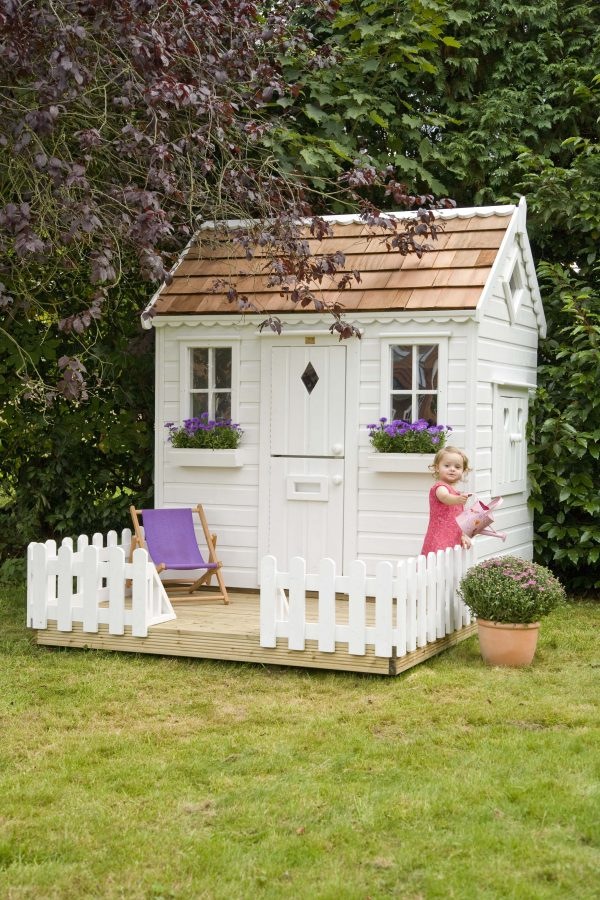 Creative Garden Playhouse With Fencingplayhousesthe Playhouse Medium
