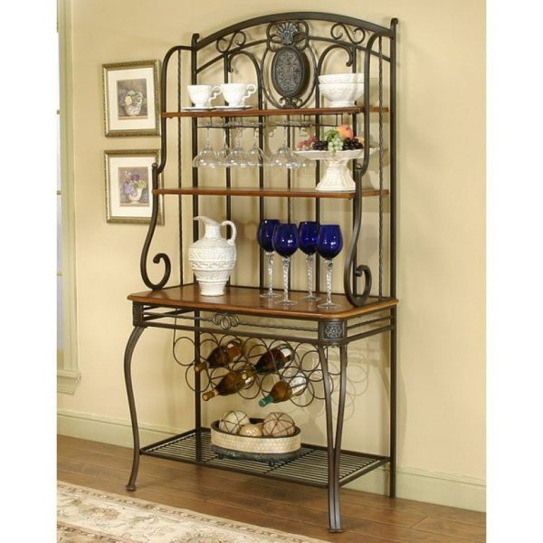 Creative Ivy Hill Bakers Rack Cramcofurniture Cart Medium