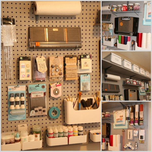 Creative Lookie What I Did Organizing With Pegboard Medium