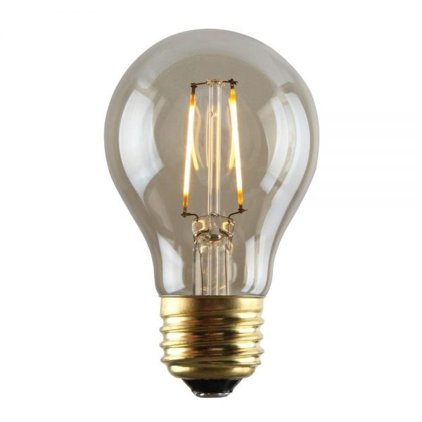 Creative Luminance 2w Equivalent 2200k A19 Dimmable Led Filament Medium