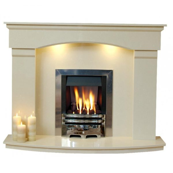 Creative Natural Marble Or Limestone Cambridge Fireplace Hearth Medium