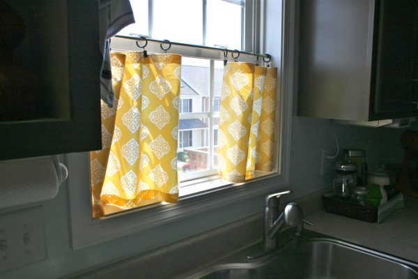 Creative Pinspiration Monday No Sew Cafe Curtains Dream Green Diy Medium