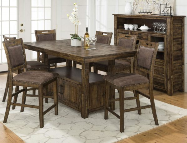 Creative Reign Adjustableheight Table And 4 Counterheight Chairs Medium