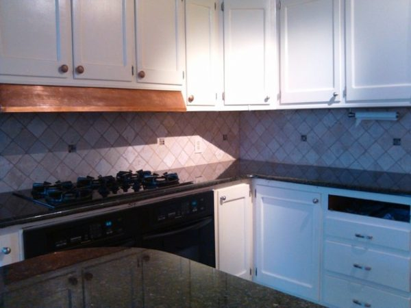Creative Uba Tuba Granite Goes Great With White Cabinets