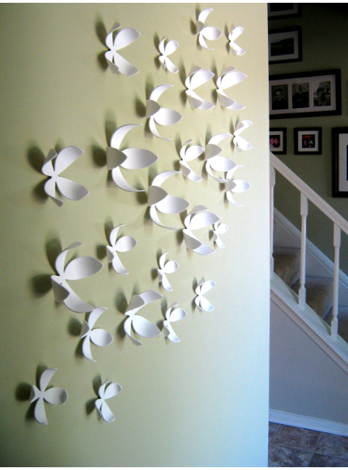 Creative Umbra Wallflower White Decorazione Da Parete Designxtutti Medium