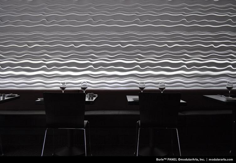 dark grey interlockingrock panels for large scale walls modular arts