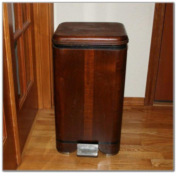 Decorative Wood Kitchen Garbage Cans Kitchen SetHome Medium