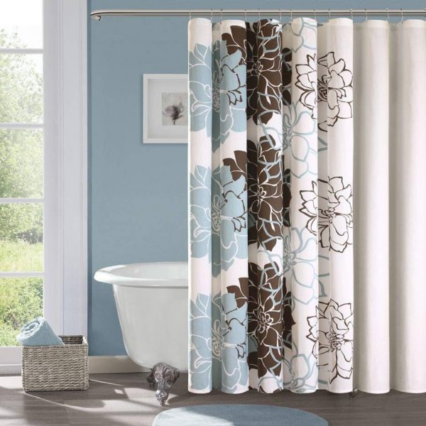 Designer Shower Curtains With Valance For Master Bathroom Medium