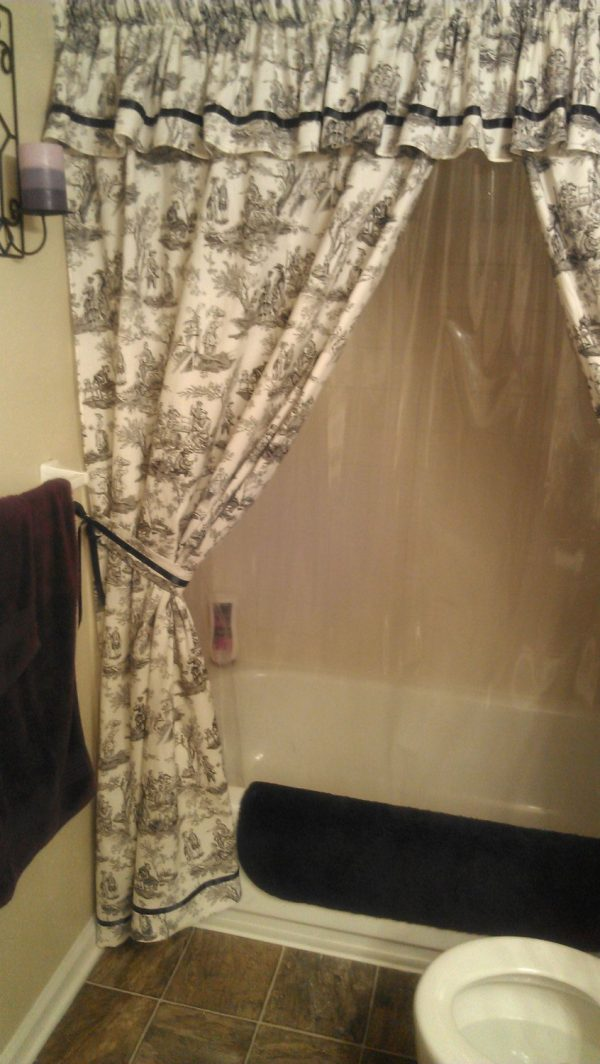 Designer Shower Curtains With Valanceinterior Decorating Medium