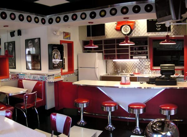 Example Of A 25  Best Ideas About 50s Style Kitchens On 50s Medium