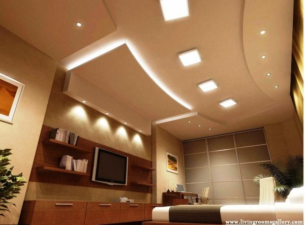 Example Of A 25 False Ceiling Designs For Kitchen Bedroom And Dining Medium