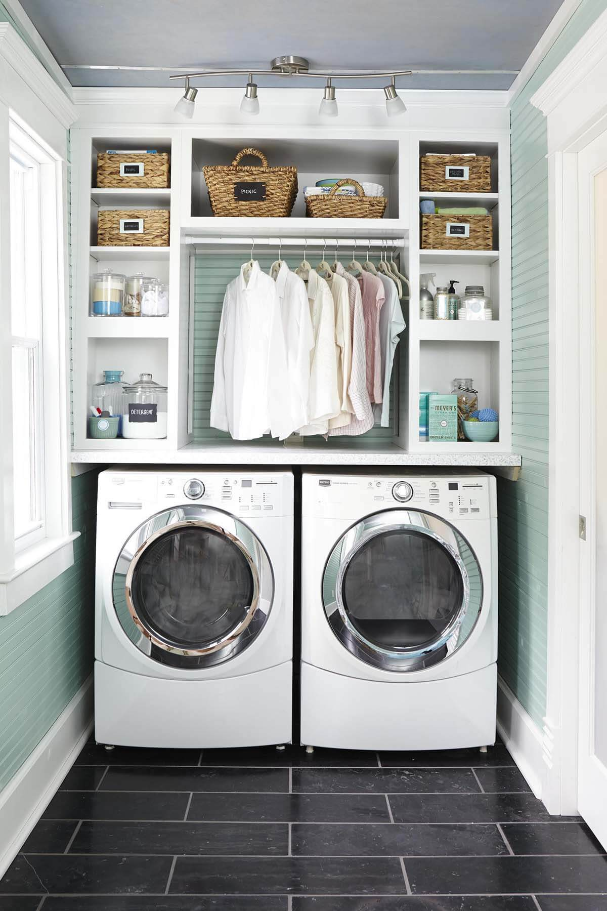 example of a 28 best small laundry room design ideas for 2019