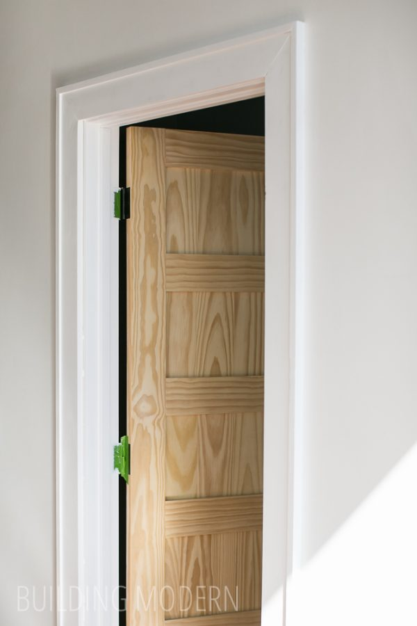 Example Of A A New Door   Trim Medium