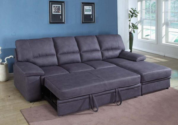 Example Of A Awesome Small Sectional Sleeper Sofa Chaise 91 About Medium