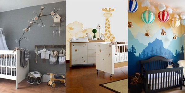 Example Of A Baby Girl And Baby Boy Nursery Ideas Confetticouk Medium