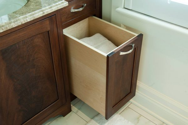 Example Of A Bath Cabinet Storage Antique Bathroom Vanities Antique Medium