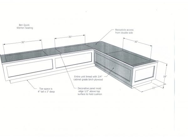 Example Of A Built In Banquette Dimensionsaifaresidencycom Medium
