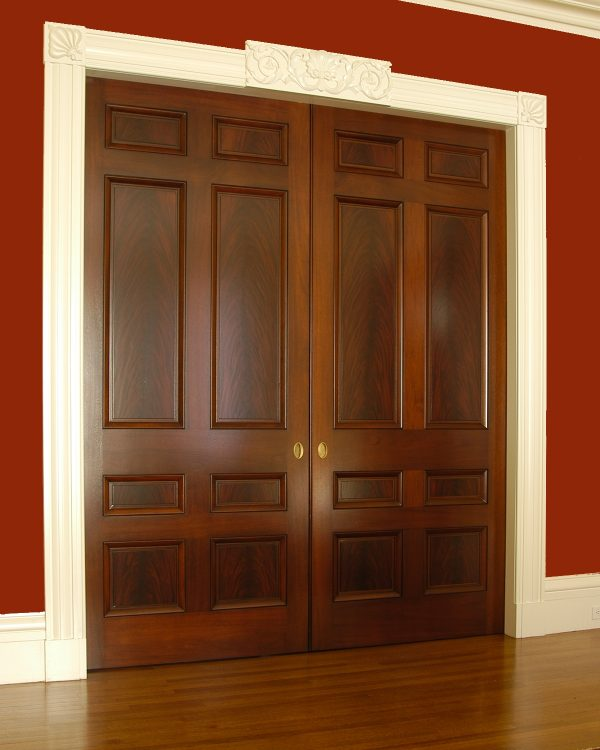 Example Of A Door Door Casing Styles For Bring Innovation Into The Medium