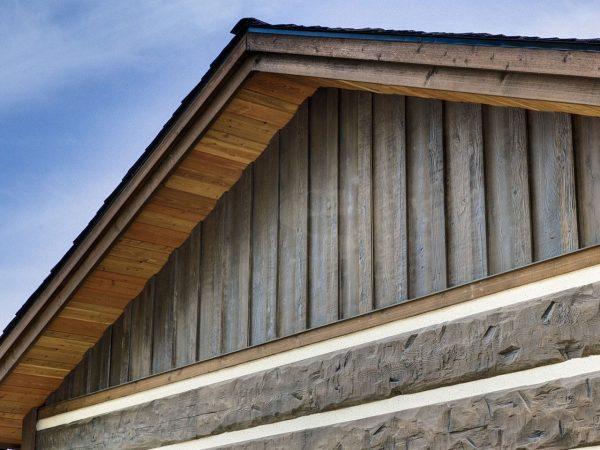 Example Of A Everlog Concrete Log Siding Profiles And Colors Medium