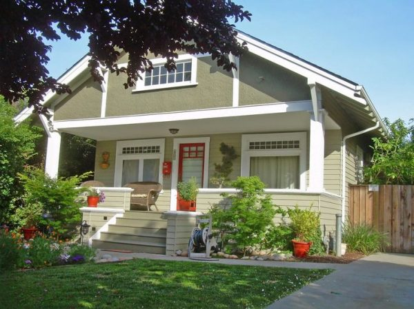 Example Of A Exciting Craftsman Style Home Colors Exterior Fabulous Medium