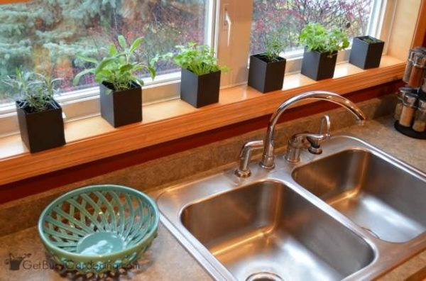 Example Of A Indoor Kitchen Herb Garden Get Busy Gardening Medium