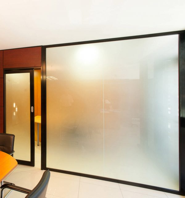 Example Of A Interior Extraordinary Glass Door And Glass Wall For Your Medium