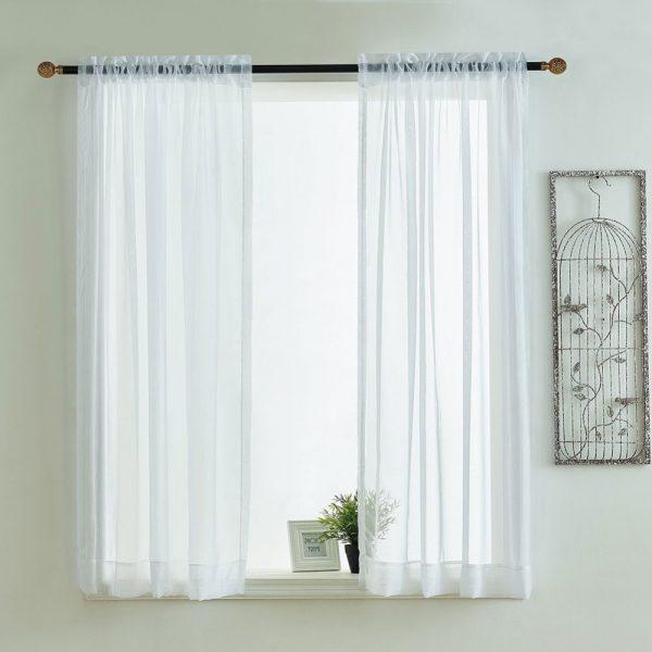 Example Of A Kitchen Curtains Valances Rod Pocket Decorative Elegant Medium