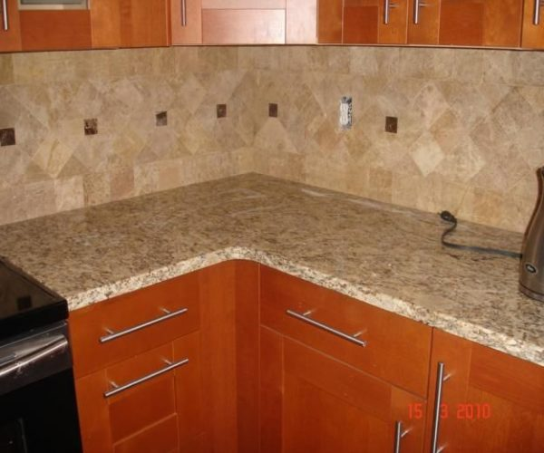Example Of A Kitchen Excellent Kitchen Backsplash Installation Glass Medium