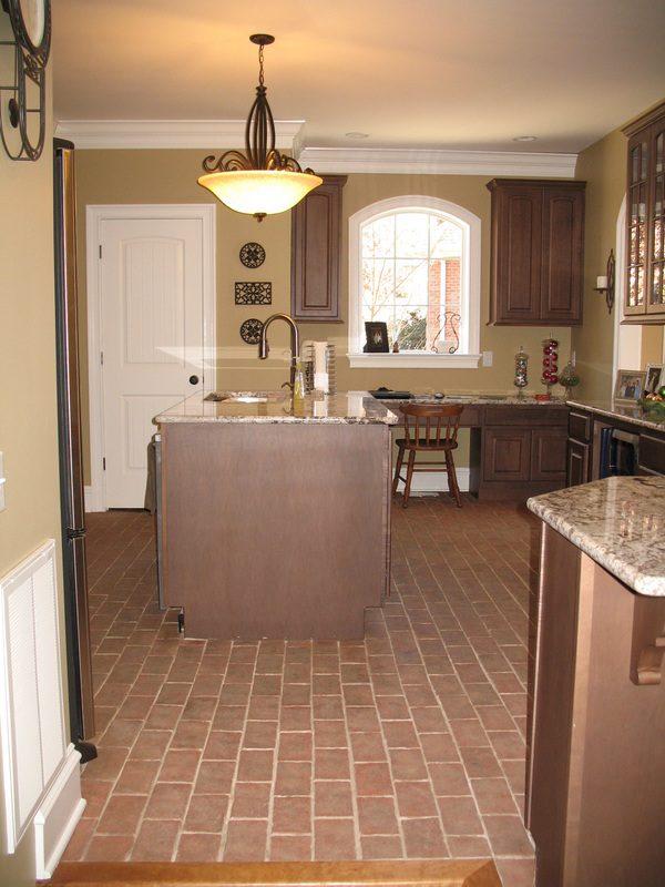 Example Of A Kitchens Inglenook Brick Tiles Brick Paversthin Medium
