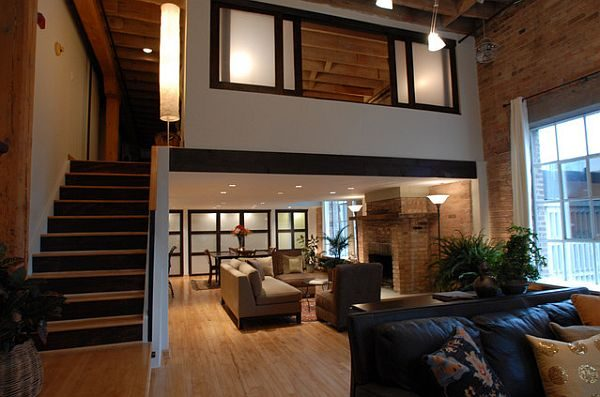 Example of a Loft Decorating Ideas Five Things To Consider